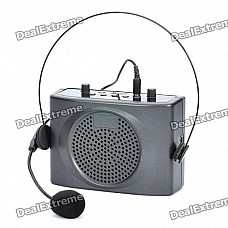Portable Rechargeable Waist Hanging Amplifier with FM/USB