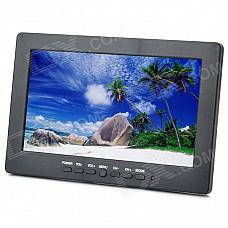 "Portable 7"" TFT LCD Monitor (AUTO/PAL/SECAM/NTSC)"
