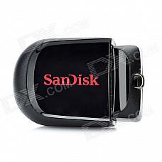 Genuine Sandisk CZ33 Cruzer Fit Mini USB 2.0 Flash Drive - Black + Red (32GB)