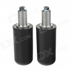 Universal Motorcycle Extended Frame Sliders Crash Protectors - Black (2PCS)
