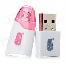 C310 OTC TF Card Reader w/ USB to Micro USB Adapter for Samsung i9100 / i9300 / i9220 / N7000