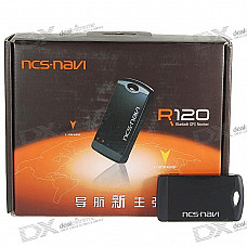 RCS R120 Rechargeable Bluetooth 51-Parallel Search GPS Receiver
