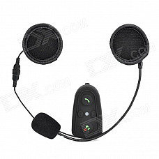 HM 508 Motorcycle Bluetooth v2.0 + EDR Headset Support Hands Free - Black