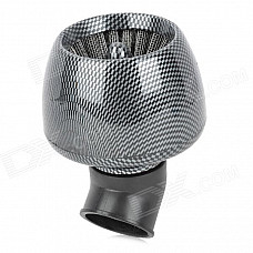 35mm Diameter Universal Air Filter for Scooter Motorcycle - Black + Grey