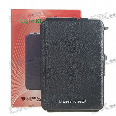 2-in-1 Cigarette Case with Butane Jet Torch Lighter (Holds 10)