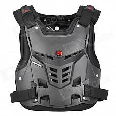Scoyco AM05 Racing Motorcycle Body Armor Protector - Black (Size L)