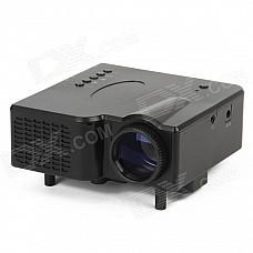 GP-1 18W DLP LED Multimedia Projector w/ Remote Controller / VGA - Black