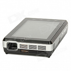 """WIZZ-PRO 5.0"""" HD Capacitive Touch Screen Android 4.0.4 Smart DLP Projector w/ Phone + Wi-Fi + Camera"""