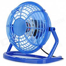 Loleng-816 USB Powered Mini Cooling Fan - Blue