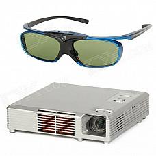 HBP503D 3D DLP PICO Projector with 3D Glasses - Silver