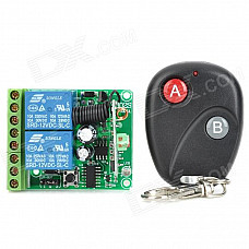 12V 2-CH Multi-function Learning Type Remote Switch (30~250V / 10A)
