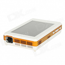 """WIZZ-PRO-A 5.0"""" HD Capacitive Touch Android 4.0 Portable Smart Projector w/ Wi-Fi + Camera - White"""