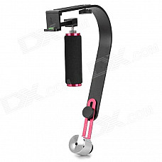 Commlite CS-S1 DSLR Camera Camcorder DV Film Video Stabilizer Steadicam - Black + Silver + Red