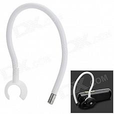 Sports Flexible Ear Hook - White + Silver