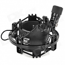 TEYUN SM-4S Professional Anti-Shock Microphone Holder - Black