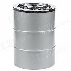 4477 Extrusion Switch Stainless Steel Ashtray - Silver