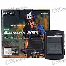 "Qstarz BT-Q2000 2.0"" LCD Performance Bluetooth GPS Travel Recorder"