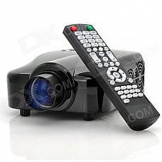 EJIALE EPV3202A FULL HD 1080P Multimedia Mini Home Theater Projector w/ HDMI + USB + AV + VGA