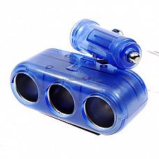 1-to-3 Car Cigarette Lighter Power Port Splitter