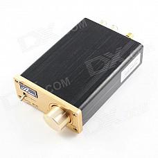 GR20 Aluminum Digital Hi-Fi Stereo Audio Digital Power Amplifier - Black + Golden