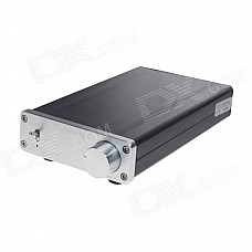 FeiXiang FX1002A 2 x 160W 2-Channel Digital Hi-Fi Amplifier Set - Silver + Black