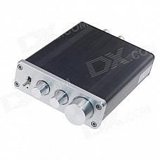 FeiXiang FX-502E 2 x 68W 2-Channel Digital Amplifier - Black + Silver