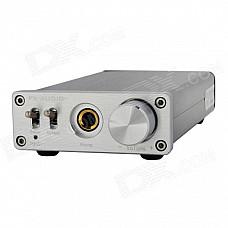 FEIXIANG PH-A1 Desktop 3.5mm Amplifier - Black + Silver (100~240V)