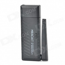 M806 Mirror2TV Wireless Display HDMI Miracast / DLNA / EZCAST Dongle - Black