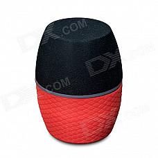 CKY RC201A Portable Wireless Bluetooth v3.0 Speaker - Red + Black