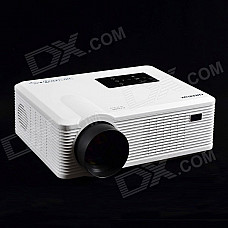 CHEERLUX CL740-WT MSTAR LCD Home Theater Projector w/ LED / Analog TV / VGA / YPbPr / HDMI - White