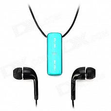 BJB-02 Multi-Function Neckband Bluetooth v3.0 Headset / Self-Timer w/ Microphone - Blue