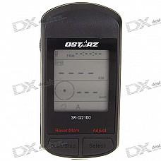 "QSTARZ SR-Q2100 1.8"" LCD GPS Sports Recorder/Data Logger/Compass/Temperature + More"