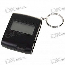 """USB Rechargeable 1.3"""" LCD 65-Channel Mini GPS Location Finder Keychain (WAAS/EGNOS)"""