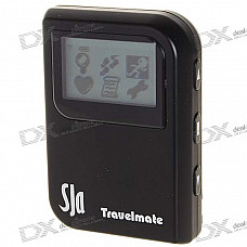 """1.4"""" LCD Travel Mate with Location Finder + Data Logger + Photo Tagger + G Mouse + More"""