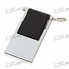Compact USB 2.0 Flash/Jump Drive with Strap - Black (4GB)