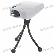 Portable Home/Office Mini USB 2.0 LCoS Projector (16:9)