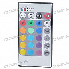 24-Key Wireless Infrared IR Remote Controller for RGB LED Light Bulb (1*CR2025)