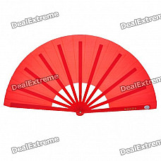 Kung Fu Performance Folding Fan - Red