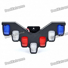 7-LED White Signal Light for Motorcycle